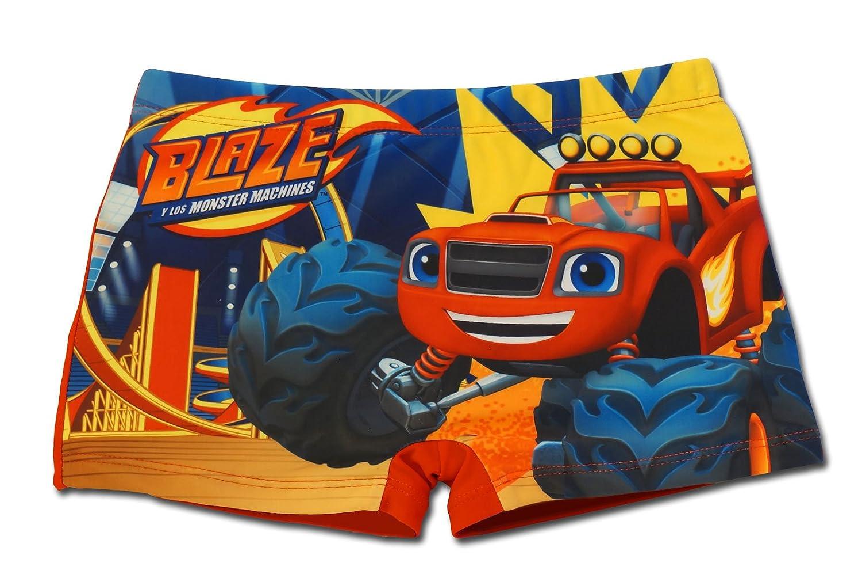 Blaze e le Mega Macchine - Costume Costumino Boxer Parigamba Mare Piscina - Bambino - Novità Prodotto Originale 8491EQ