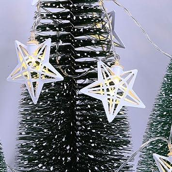 Led Christmas Tree Fairy Light Pentagram Twinkle Led Light