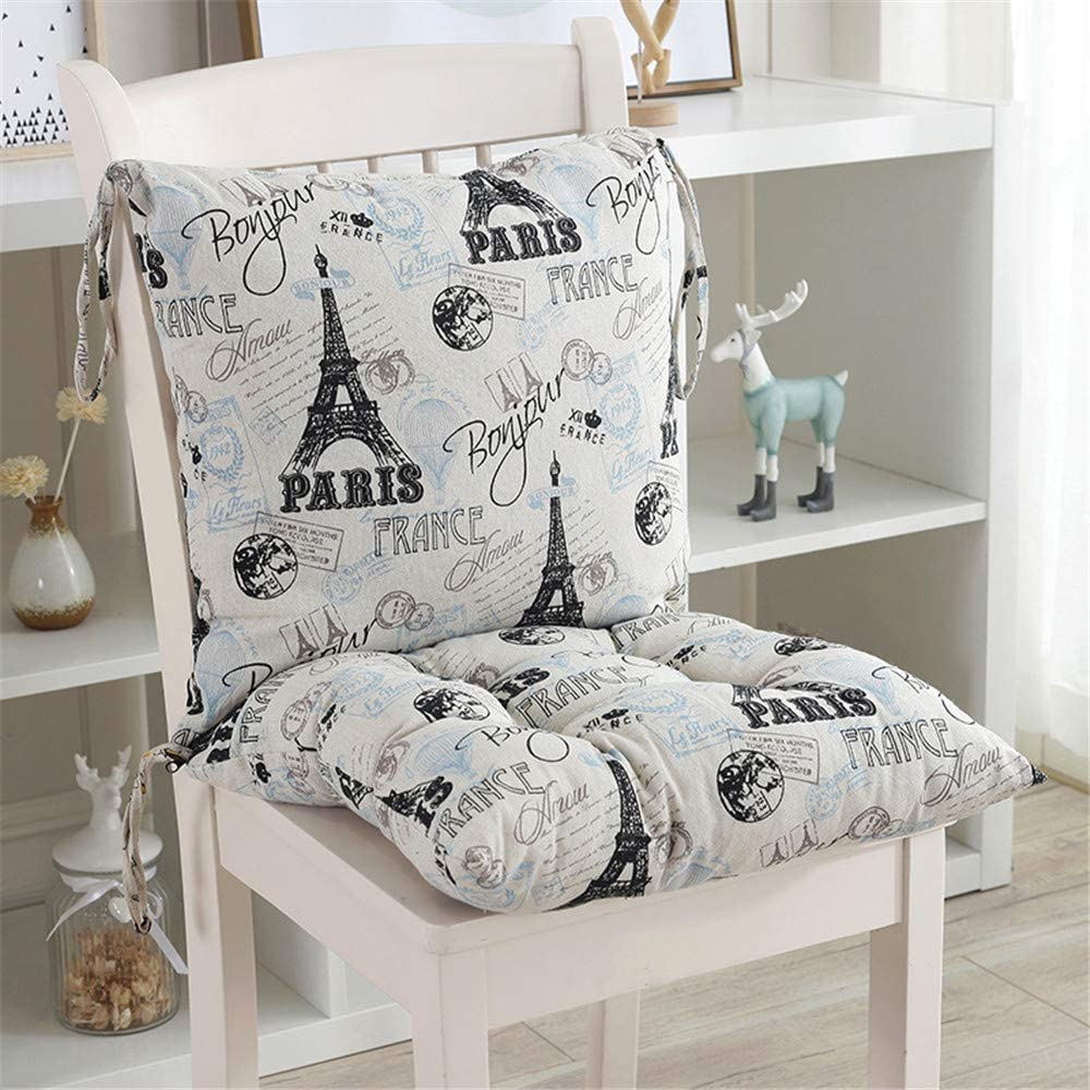 E,50 * 50 * 9 Hava Kolari Coussin de chaise avec dossier Matelas Coussin pour Chaise Fauteuil de Jardin terrasse coussin de si/ège