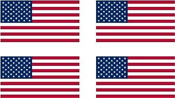 White Bumper Sticker Blue All The Way Through Support USA Red Patriotism