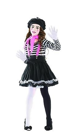 Mezmerizing Mime Child Costume - Small  sc 1 st  Amazon.com & Amazon.com: Child Mesmerizing Mime Costume: Clothing