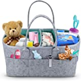 Baby Diaper Caddy Organizer - Portable Storage Basket - Essential Bag for Nursery, Changing Table and Car - Great for…
