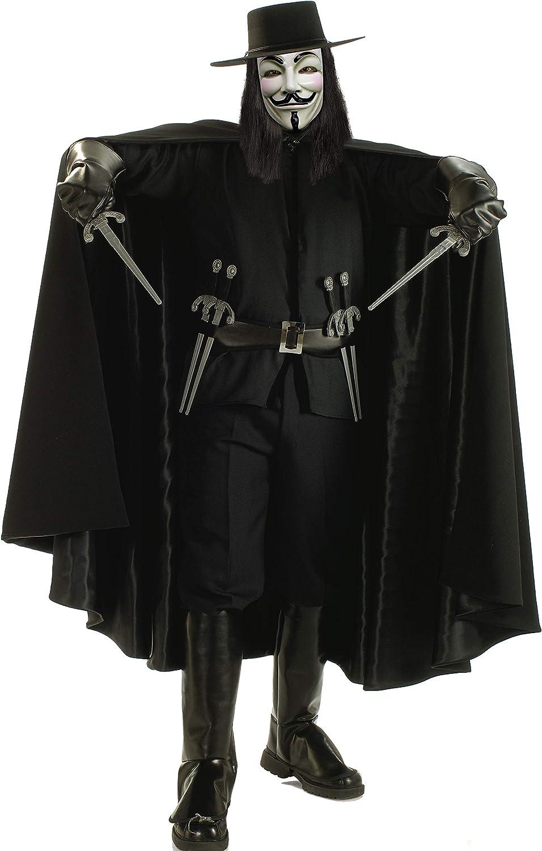 Costume V per Vendetta Adulto Rubies IT888238-STD Taglia Unica