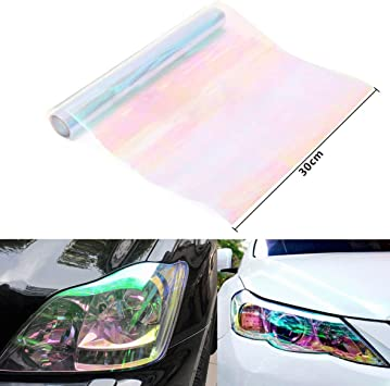 "12/""x24/"" 13 Colors Protective Tint Headlight Taillight Fog Lights Vinyl Film Tint"