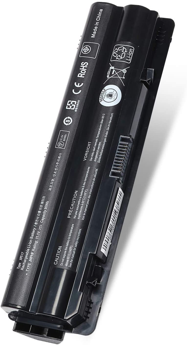 New 90Wh R795x Laptop Battery Replacement for Dell XPS L702X L701X 17 15 14 1591 L502X L501X L702X L721X fit: 312-1123 312-1127 J70W7 JWPHF WHXY3 Notebook Battery [11.1V 90Wh ]