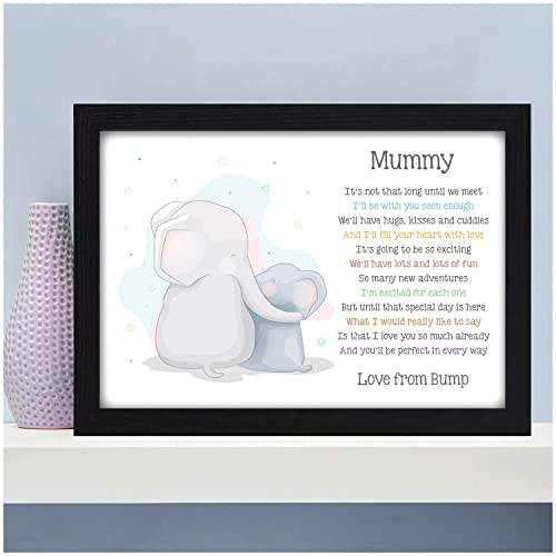 Personalised Mummy To Be Gifts From Bump Daddy Birthday Christmas Mothers Fathers Day Baby Shower For Expecting