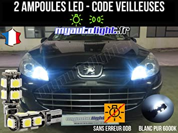 Pack faros LED de color blanco xenón