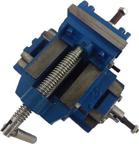 Imagen deEuronovità EN-220773 - Mordaza para taladro de columna o normal, versión robusta, azul, 75 mm