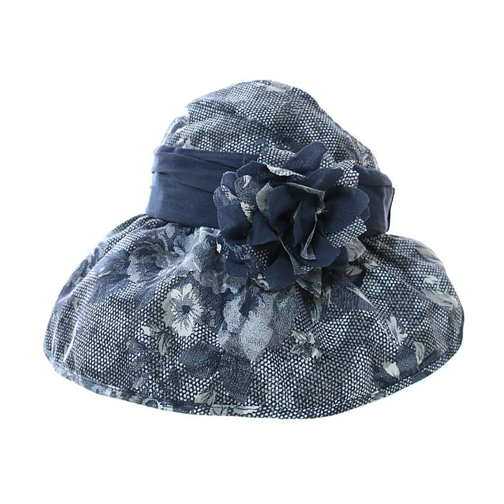 Liangliang Summer Sun Hat, Adjustable Wide Side Breathable Cap 53-59cm