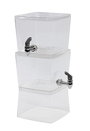Creativeware  5 Gallon Stacking Beverage Dispenser Clear