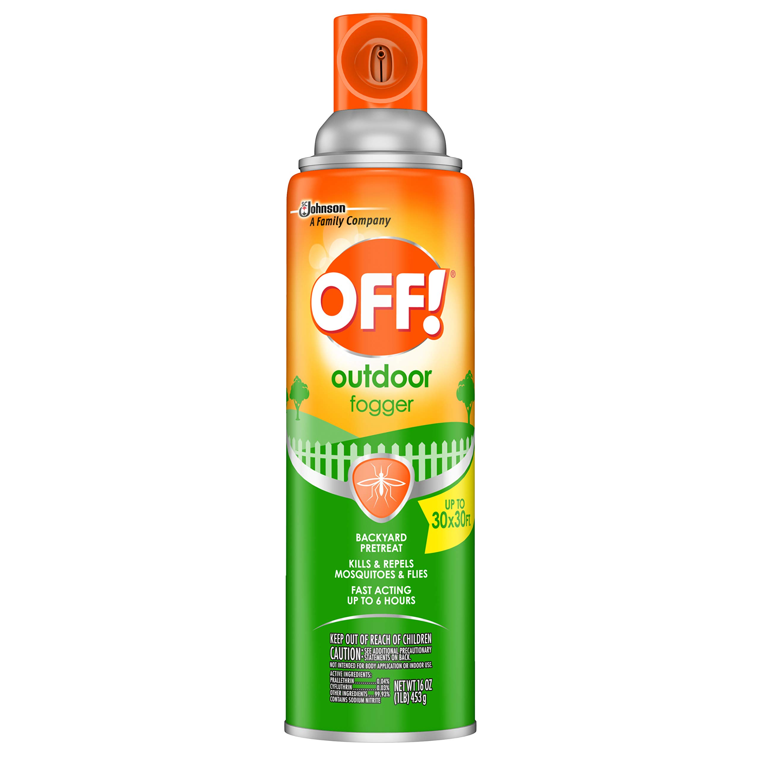 Off Yard and Deck Insect Repellent - 16 Ounce (Pack of 3) by OFF!