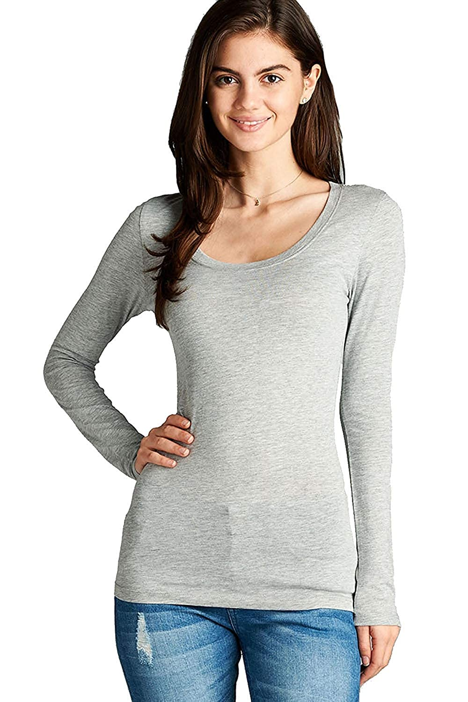 152 arfurt Women's Long Sleeve Button Down Casual Dress Shirt Business Blouse