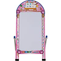 Toy Plus Vaibhav Creative Kids Big Reusable Chalk And Marker Writing Double-Side Board