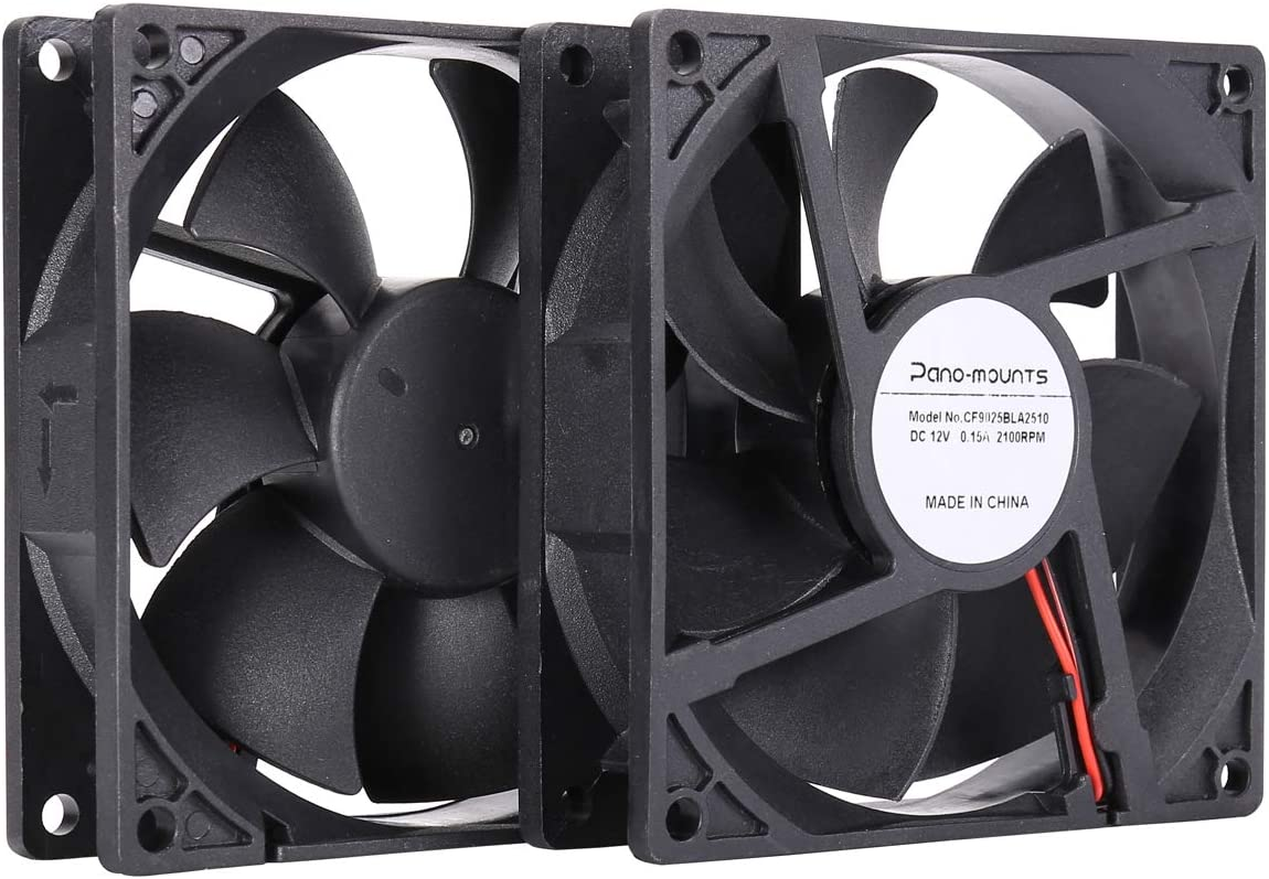 New 92mm 3pin Connector Computer System Cooler Fan w// Screws PC Case Cooling 12V