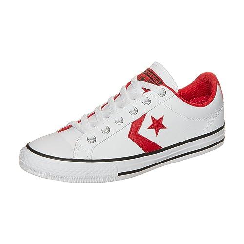 converse star player hombre rojas
