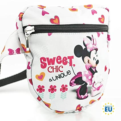 Disney Minnie Mouse SWEET CHIC COLLECTION fashion belt bag hip bag bum bag  waist   like a bag with bum bag function News 2018  Amazon.co.uk  Luggage 7fc0e56c7417d