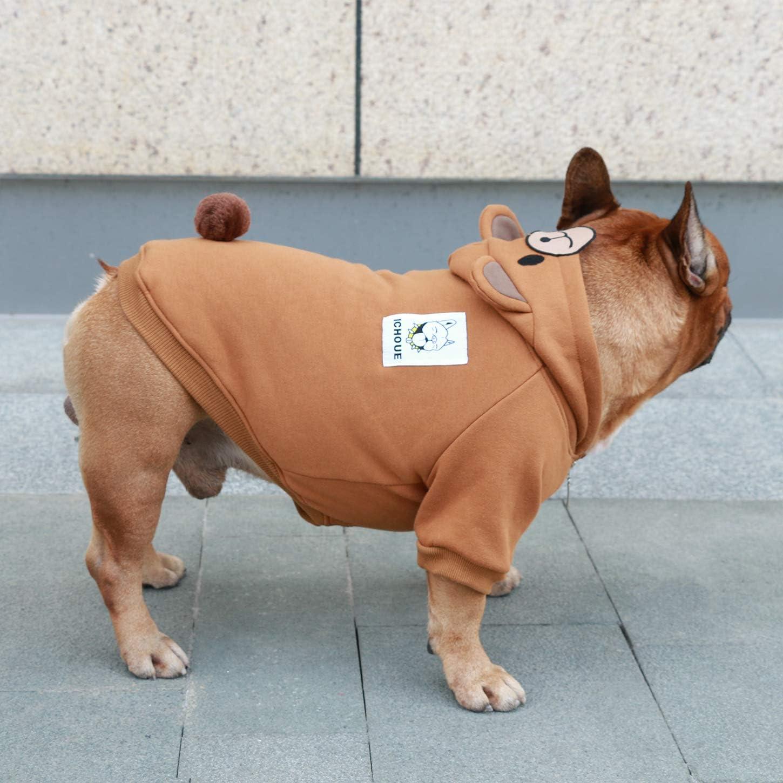iChoue Animal Pet Costumes Dog Hoodie Warm Clothes