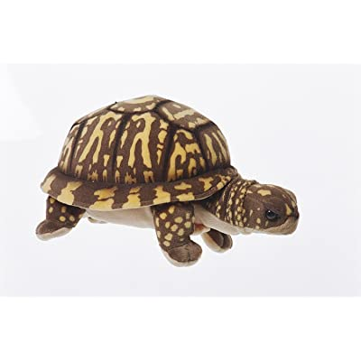 """Box Turtle Plush Toy By Cabin Critters 11"""" Long: Toys & Games"""
