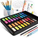 Frunsi Portable 36 Assorted Watercolors Travel Kit