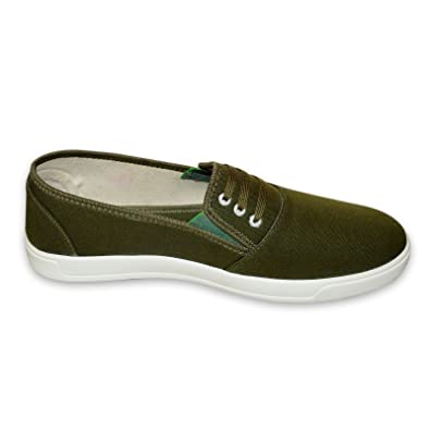 Marusthali Men'S Black & Green Casual Shoes (9) bbBgcpHM