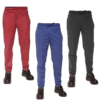 Chef Works unisex pantaloni Easyfit