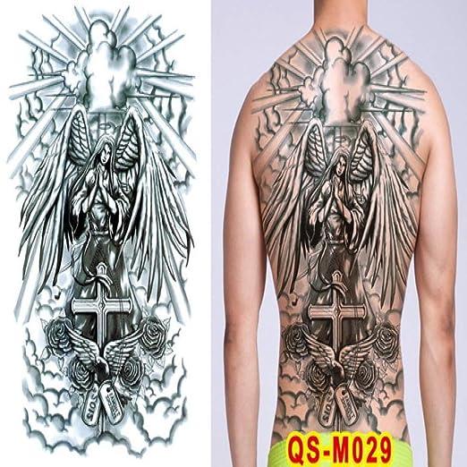 Handaxian 2 Piezas de Tatuaje para Hombres, Tatuaje de dragón ...