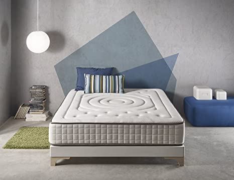 Living Sofa COLCHÓN COLCHONES VISCOELASTICO VISCOELASTICA VISCO Imperial Cashmere Relax® 25CM Todas Las Medidas (150 X 190)