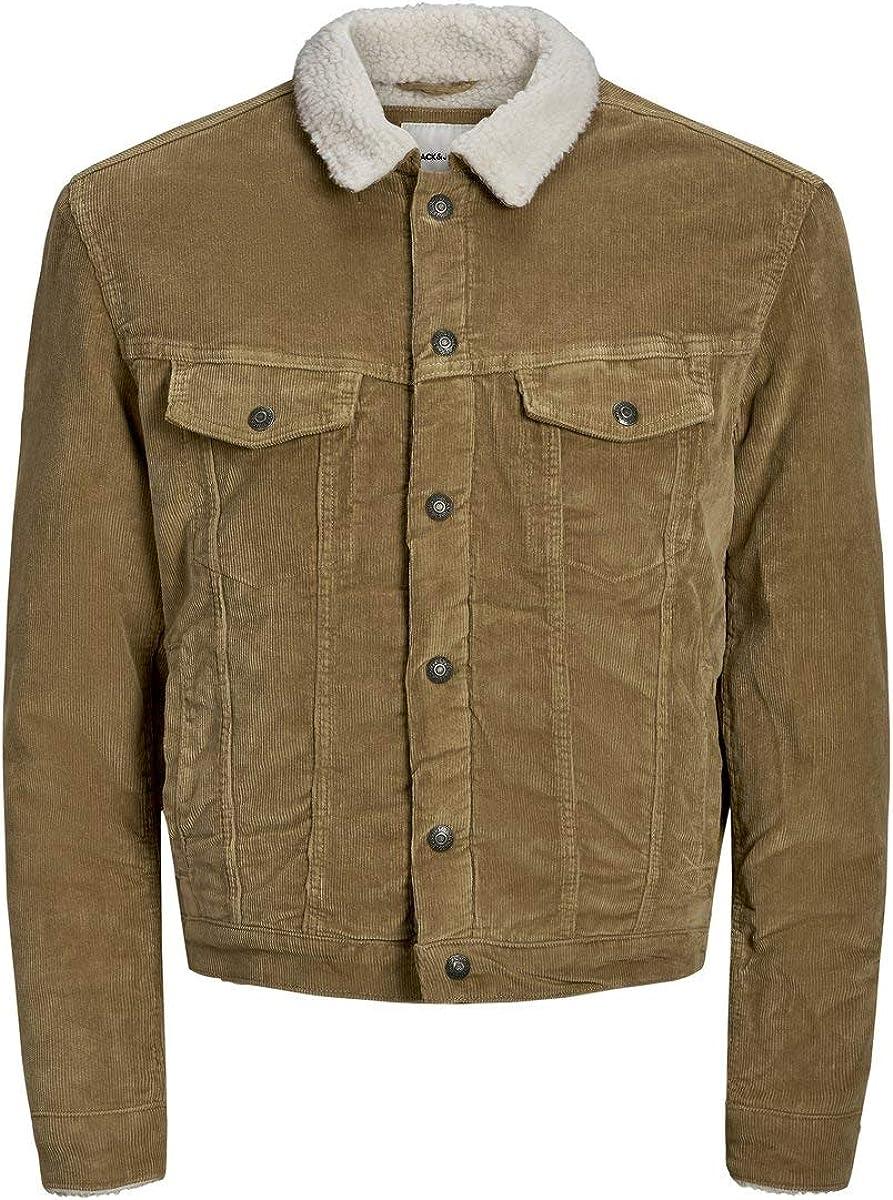 BNWT Jack /& Jones Men/'s L//Sleeve Denim Jacket