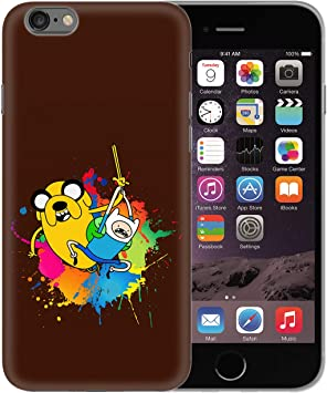 Adventure Time Finn & Jake Cartoon Characters_BEN2622 Protective Phone Mobile Smartphone Case Funda Fundas Carcasa Cover Hard Plastic For iPhone XS MAX Funny Regalo Christmas: Amazon.es: Electrónica