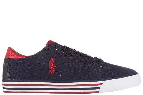 Polo Ralph Lauren Zapatos Zapatillas de Deporte Hombres en algodón ...