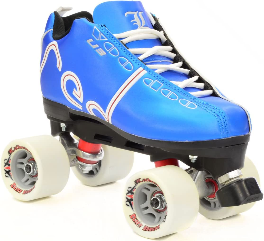 Labeda Voodoo U3 Kentucky Blue Quad Roller Derby Skates