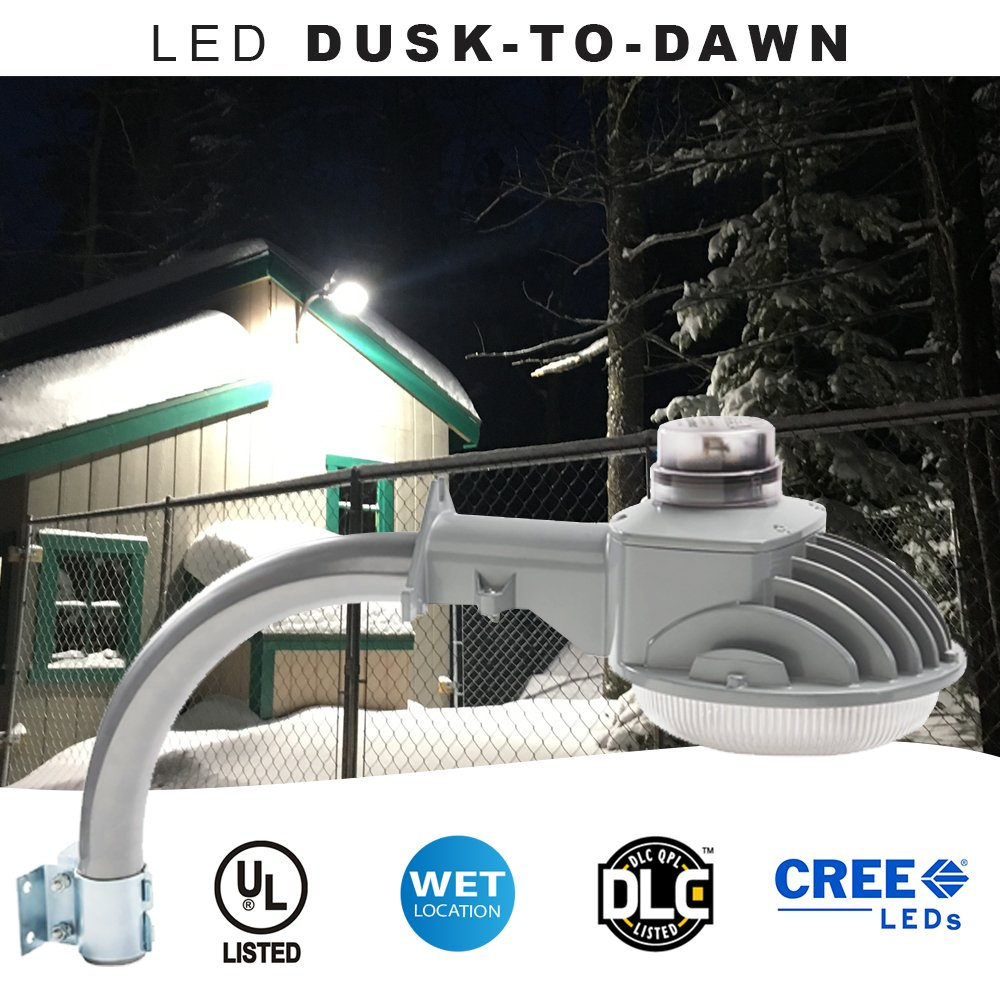 Led Dusk To Dawn Light Brightest On Amazon 70 Watt 7000 Lumens Brinks Security Wiring Diagram Perfect For Use As An Yard Barn Or