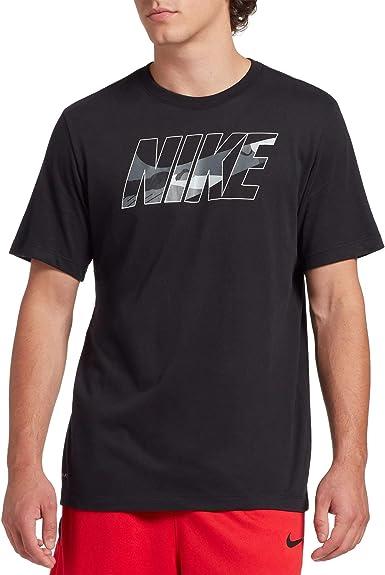 Nike Dri-FIT Camiseta de Entrenamiento de algodón para Hombre ...