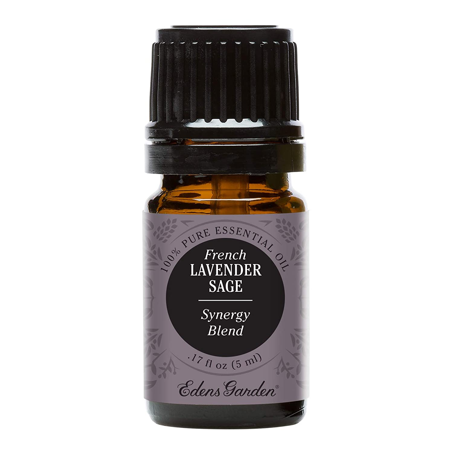 Edens Garden French Lavender Sage Essential Oil Synergy Blend, 100% Pure Therapeutic Grade (Highest Quality Aromatherapy Oils- Sleep & Stress), 5 ml