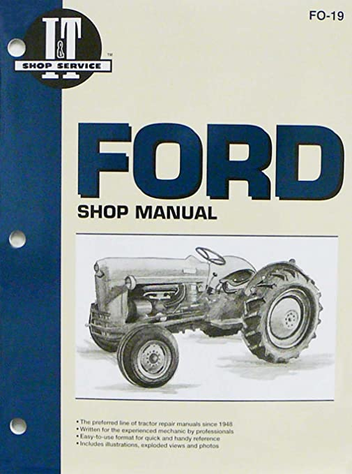 I&T SHOP MANUALS FORD TRACTOR EBOOK