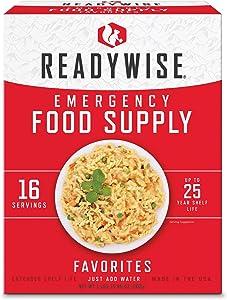 Wise Foods Emergency Survival Freeze Dried Food Favorites Sample