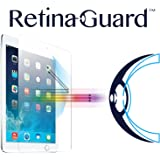 RetinaGuard Anti-UV, Anti-blue Light Tempered Glass Screen protector for iPad Air / iPad Air 2 / iPad Pro 9.7 / 2017 iPad - SGS & Intertek Tested - Blocks Excessive Harmful Blue Light