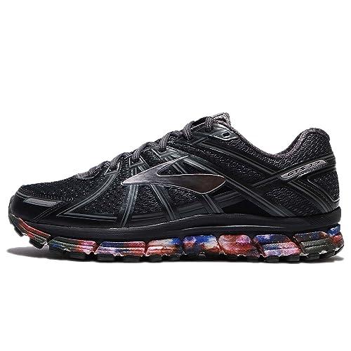 60f86d54b84 Brooks Men s Adrenaline GTS 17 Night Sky Anthracite Primer Grey Nylon  Running Shoes 14