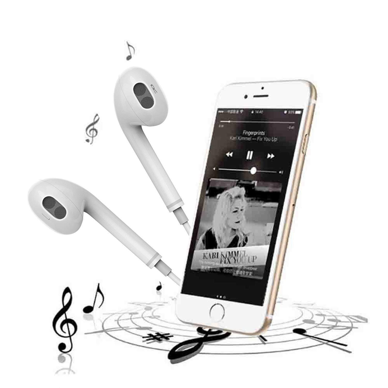 DAREYOU /Écouteurs Intra-Auriculaires 2 Pack /Écouteurs avec Micro et de Volume contr/ôle st/ér/éo Casquet Compatible avec iPhone 6S 6splus 6 6Plus 5S