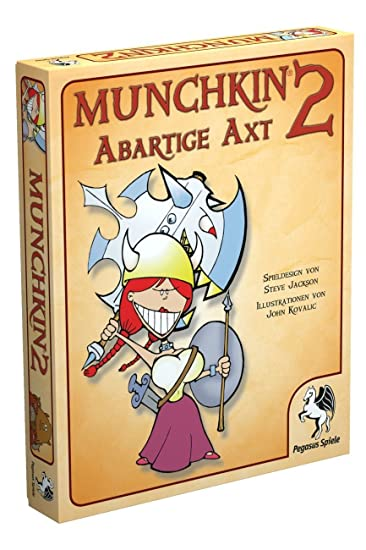 Pegasus Spiele 17212G - Munchkin 2, Abartige Axt: Amazon.de: Spielzeug