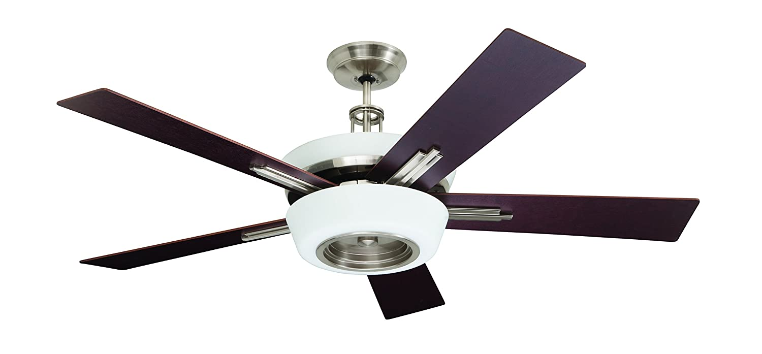 Emerson Ceiling Fans CF995BS Laclede Eco Indoor Ceiling Fan With Remote,  62-Inch Blades, Brushed Steel Finish - - Amazon.com - Emerson Ceiling Fans CF995BS Laclede Eco Indoor Ceiling Fan With