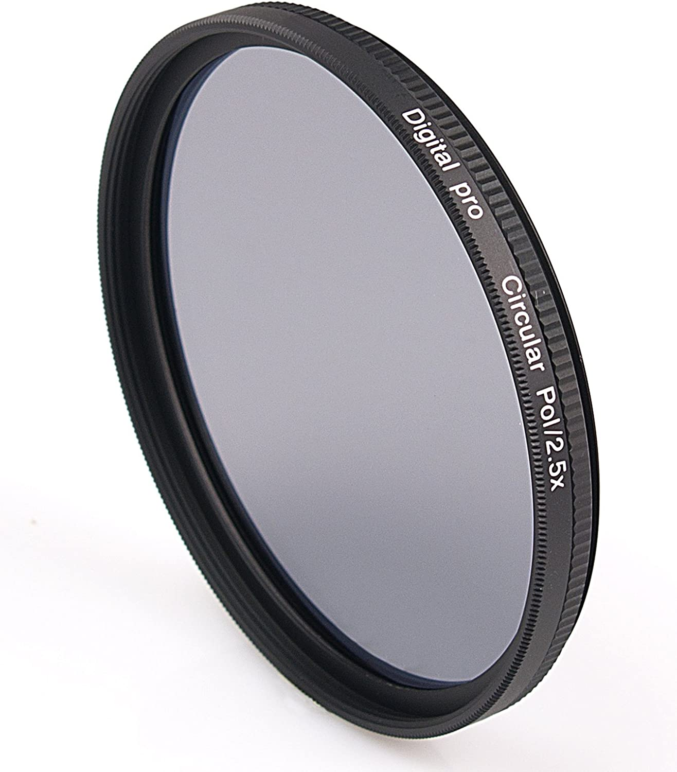 Rodenstock 507240 72mm Circular Polarizer Slim Aluminum Mount Multi-coated Red Label Filter Black//Transparent