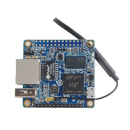 2 opinioni per MakerHawk Arancione Pi Zero H2 Quad Core Scheda di sviluppo a 512MB open source