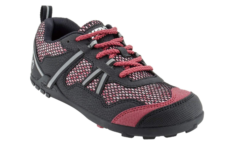 Xero Shoes TerraFlex - Women's Trail Running and Hiking Shoe - Barefoot-Inspired Minimalist Lightweight Zero-Drop - Black