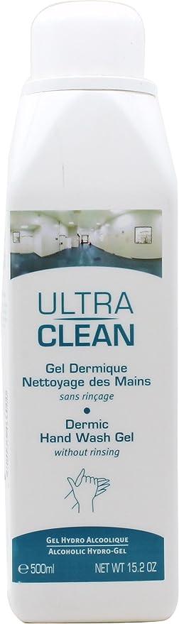 Dermic 500ml Guinot Ultra Clean Hand Wash Gel Hydro Alcoholic