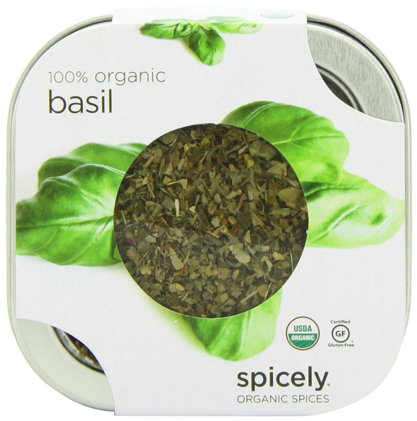 Spicely Organic Basil - Tin