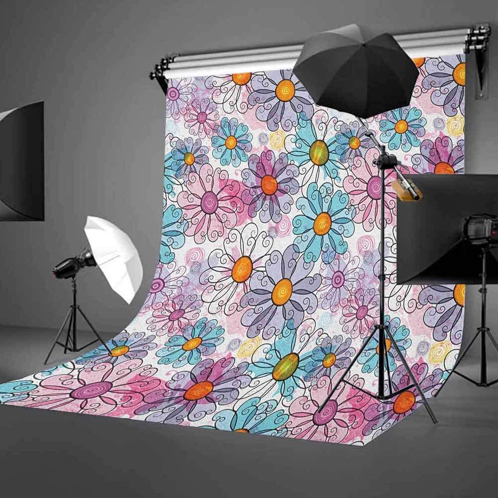7x10 FT Abstract Vinyl Photography Background Backdrops,Vibrant Mosaic Tiles Geometric Forms Maze Oriental Moroccan Turkish Tribal Background for Photo Backdrop Studio Props Photo Backdrop Wall
