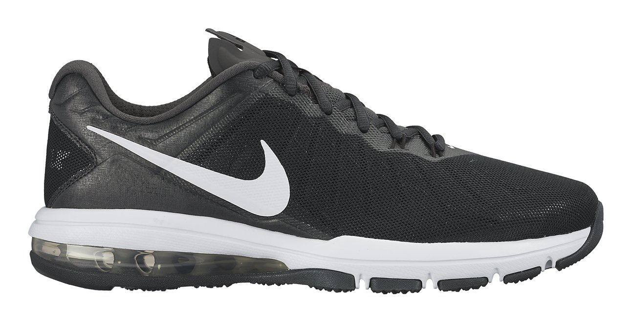 a5a35ee4927 Galleon - Nike Men s Air Max Full Ride TR Training Shoe Black Anthracite Dark  Grey White Size 9 M US