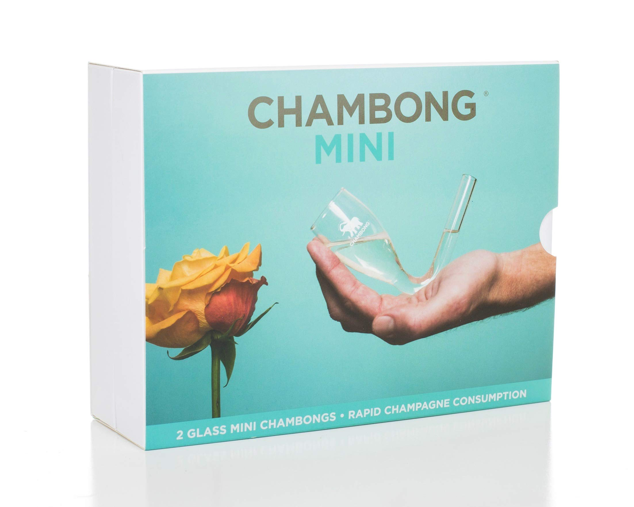 Chambong Mini (3 oz.) - Hand-blown Champagne Shooters - Bachelorette Party