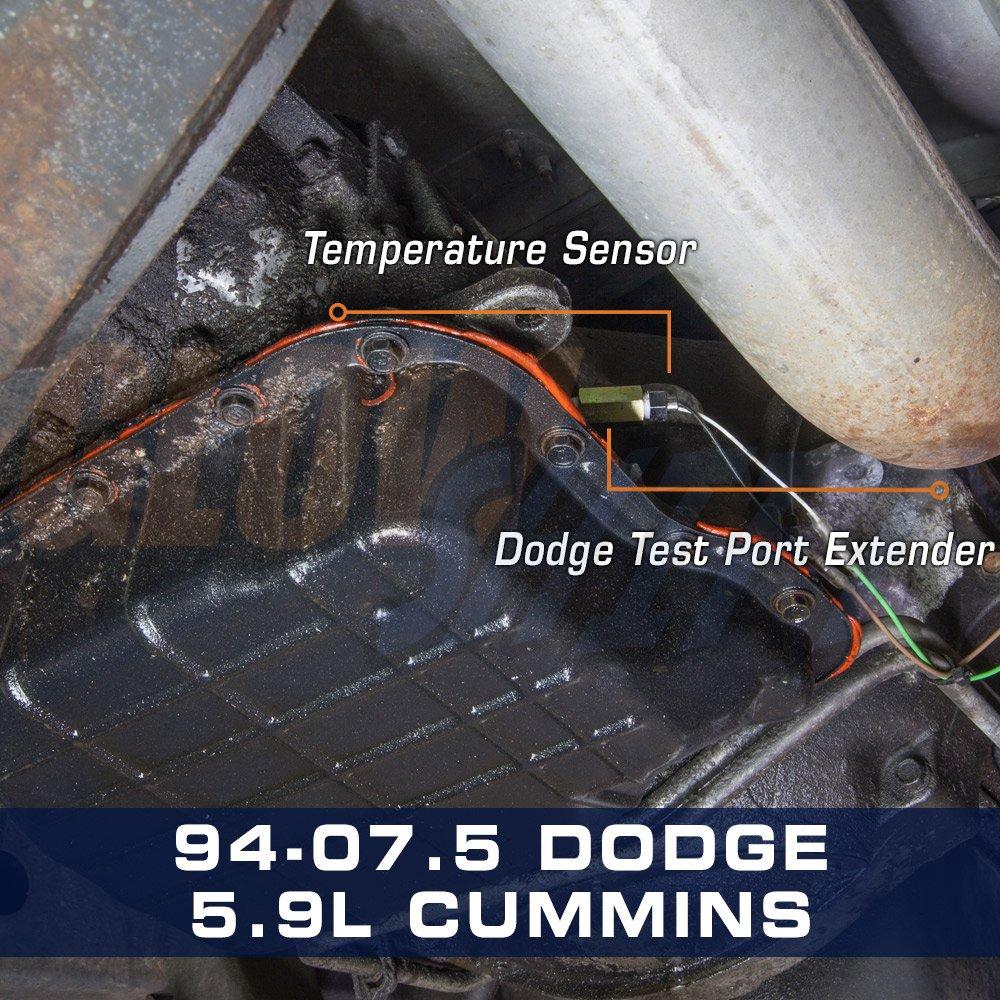 1995 dodge ram 1500 transmission temperature sensor location